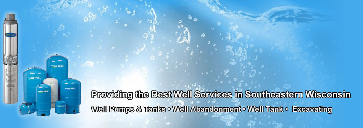 Best Well and Pump Services Plumbing Services Milwaukee/Wind Lake Wisconsin
